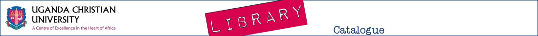 Library catalogue banner